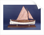 Full hull model representing 'Britannia' and 'Glasgow', starboard broadside by unknown