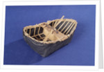 River Tywi coracle, starboard stern quarter by unknown