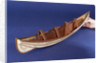 Full hull model, collapsible lifeboat, collapsed for stowage by unknown