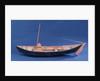 Full hull model, Bridgwater flatner, port broadside by Charles Holt