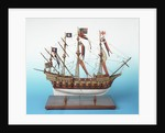 80-gun galleon or man-of-war 'Great Harry' by unknown