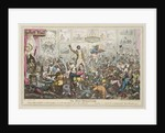 The New Union: Club, Being a Representation of what took place at a celebrated Dinner, given by a celebrated - society by George Cruikshank
