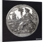 Medal commemorating the Peace of Utrecht, 1713 by D. Drappentier