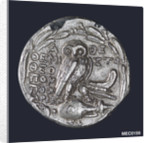 A tetradrachm commemorating the Battle of Salamis, BC480 by unknown