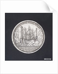 Medal commemorating the action off Corfu victory over the Turks, 1716 by O. Hamerani