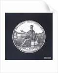 Medal commemorating Civitavecchia enlarged and its harbour improved, 1836 by J. Cerbara