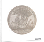 Dundee penny token commemorating  Admiral of the Fleet Adam Duncan (1731-1804)  and the battle of Camperdown, 1797 by T. Wyon