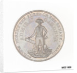 Election token commemorating Vice-Admiral Sir Alan Gardner MP by unknown
