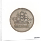 Halfpenny token by unknown