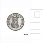Promissory naval farthing commemorating Admiral Alexander Hood, 1st Viscount Bridport (1727-1814) by T. Wyon