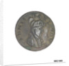 Promissory naval farthing token commemorating Admiral of the Fleet Richard Howe (1726-1799) by T. Wyon