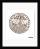 Cinque Ports halfpenny token by R. Dixon