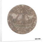Cinque Ports halfpenny token by Arnold; W. Lutwyche