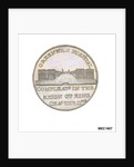 Penny token commemorating Greenwich Hospital by T. Wyon