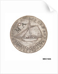 Hastings halfpenny token by T. Wyon