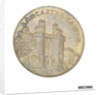 Commemorative medal depicting Lancaster castle and bridge by unknown