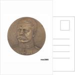 Commemorative medal depicting Horatio Herbert Kitchener (1850-1916) by Jules-Prosper Legastelois