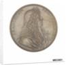 Commemorative medal depicting Francesco Redi (1626-97) by M. Soldanus