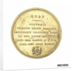 Commemorative medal depicting Galileo Galilei (1564-1642) by P. Cinganelli