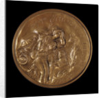 Medal commemorating Vice-Admiral Horatio Nelson (1758-1805) and Trafalgar by Ronald Searle