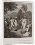 A Negro Festival drawn from Nature in the Island of St Vincent by Agostino Brunais