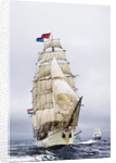 Barque 'Europa' during Lerwick to Stavanger Tall Ships Race 2011 by Richard Sibley