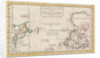 Map of Asia and America by Jacques Nicolas Bellin