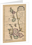 Map of the Molucca Islands (modern Indonesia) by Pierre van der Aa