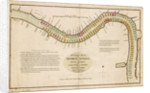 Mr Ogle's plan, for mooring vessels, in the River Thames, from London Bridge to Deptford, on an improved system by Edward Ogle