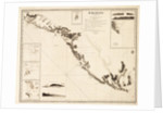 Karamania Chart III from Cape Karaboornoo to Cape Anamour by Francis Beaufort