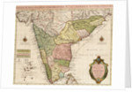 Chart of the Indian Ocean by Guillaume de L'Isle