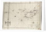 An accurate chart of the islands of Alderney and Burhou and also of the Caskets by Nicholas Dobree and Paul Vaillant