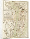 A plan of the operations of the King's army under the command of General Sr William Howe KB in New York by Claude Joseph Sauthier