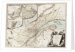 Map of Quebec, Canada by Sayer & Bennett