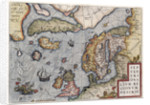 Map of Europe by Ortelius, 16th century by Abraham Ortelius