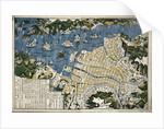Map of Nagasaki, Japan by Koju do