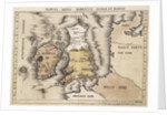 Map of England, Ireland and Scotland by Ptolemy