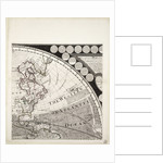 A new and correct map of the world (section) by Sayer & Bennett