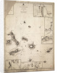 Chart of Galapagos Islands surveyed during voyage of HMS 'Beagle' by Robert Fitzroy