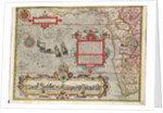 Chart of the Guinea coast, Manicongo and Angola as far as the Cape of Good Hope by A.F. van Langren