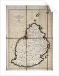 Carte de l'Isle de France levee geometriquement par Mr. l'Abbe de la Caille, de l'Academie Royale des Sciences, en 1753 by Ll'Abbe de la Caille