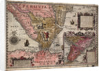 The southern tip of Peru, South America by Johannes Doetecum