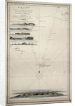 Chart showing the track of His Majesty's ship 'Centaur' (1797) from England to Madeira and back by Anonymous