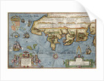 Chart of the English Channel by Lucas Jansz Wagenaer