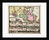 Accurate Carte der Uplandischen Scheren mit der Situation und Gegend umb die Konigle Schwedische Haupt und Residentz Stadt Stockholm by J.B. Homann