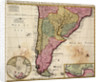 Chart of Paraguay, Chile, Straits of Magellan and Tierra del Fuego in South America by Nicholas Visscher