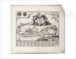 Mappa Aestivarum Insularum, alias Barmudas dictarum. Single sheet, engraving. by Unknown
