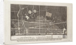 Plan of the City of London after the Great Fire of 1666 by Christopher Wren
