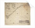 Chart of Gulf of Guinea, Africa by Gerard van Keulen