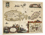 Map of Malta and Gozo by unknown